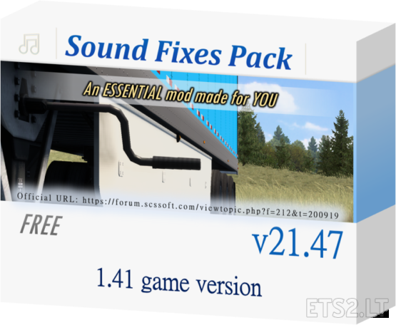 Sound Fixes Pack v 21.47