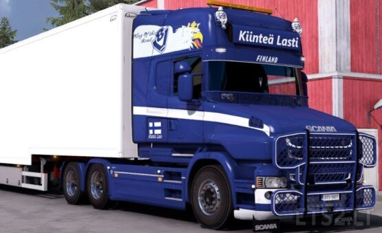 Finnish Style Skin for Scania T