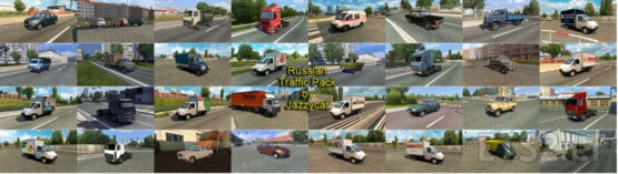 Russian Traffic Pack by Jazzycat v3.2