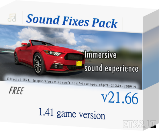 Sound Fixes Pack v 21.66