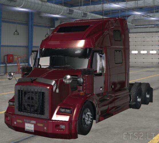 Volvo vnl t800 custom ets2 1.41