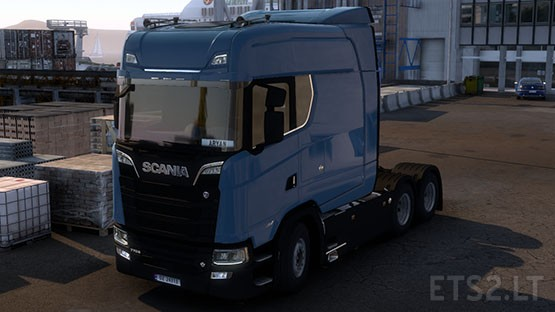 Scania S Long Line v1.1 By Aryan