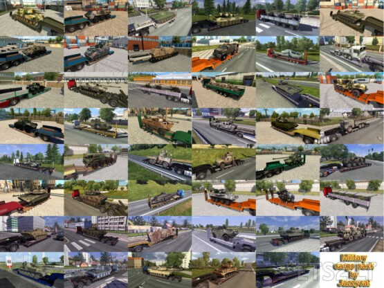 Military Cargo Pack by Jazzycat v5.3