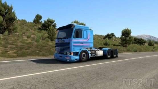 Scania Frontal Series H 112H, 113H 1.42
