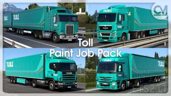 Toll Paint Job Pack v1.2